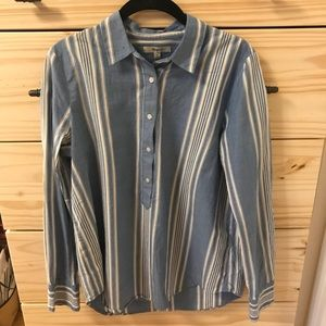 Madewell Tops - Striped dress shirt